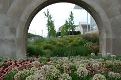 A contemporary perennial garden at the Chicago Art Institute designed and installed by Roy Diblik, co-owner of Northwind Perennial Farm in Burlington, WI.