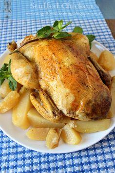 Slow Cooker Stuffed Chicken