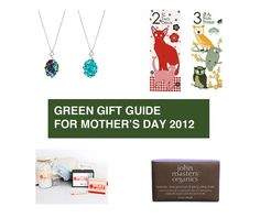 Green Gift Guide For Mother's Day