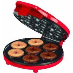 Mini Donut Maker Basic Donut Recipe Recipe by FITNWHOLE via @SparkPeople