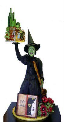 Wicked Witch Wizard of Oz cake!