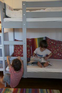 Ikea kura mydal kids room makeovers on pinterest ikea kura bed