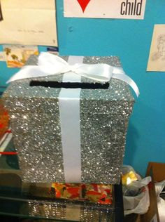 Great glittering card boxes!