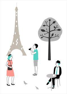 Paris by Audrey Jeanne