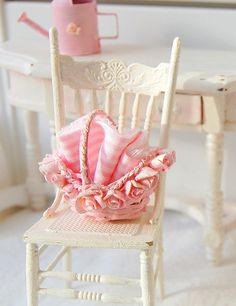 Image detail for -Dollhouse Miniature Shabby Chic Picnic by Memoriesnminiature