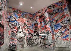 Rad graffiti room!