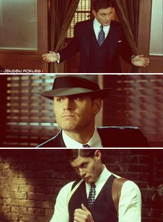 dean Winchester, working sexy since the 1940's.