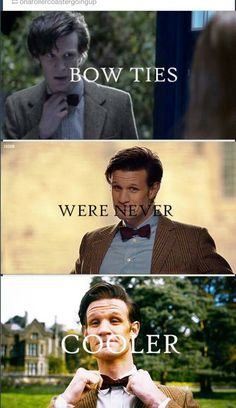 Bow ties were never cooler!