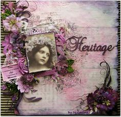 "Di's Creative Space: My 2Crafty Chipboard May DT RevealPart One""Heritage"""