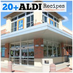 20 Recipes Using Aldi Products