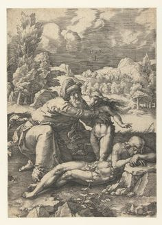 The Creation of Eve. Lucas van Leyden 1494 – 1533