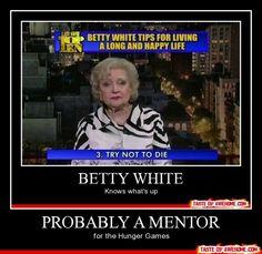 Betty White YES