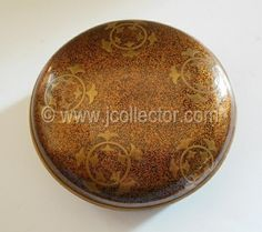 Japanese lacquer mirror box at www.Jcollector.com