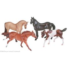 My Breyer horses were good friends.