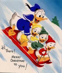 christmas cards, vintage disney, disney christmas, vintage christmas, christmas fun, greeting cards, christmas greetings, old disney, xmas cards