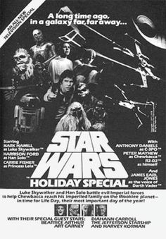 Star Wars Holiday Special newspaper advertisement