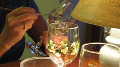 NATURESWAY: How to paint wine glasses