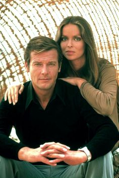 Roger Moore as James Bond and Barbara Bach as Major Anya Amasova in The Spy Who Loved Me