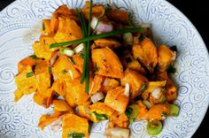 Cold Sweet Potato Salad. Easy, healthy, and packed with flavor #vegan #recipe #glutenfree