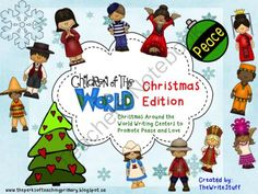 Christmas Around the World Writing Centers from TheWriteStuff on TeachersNotebook.com (26 pages)  - Christmas Around the World Writing Centers