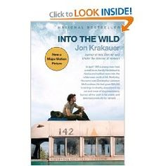 """""""Into The Wild"""" by Jon Krakauer is recommended by Stacy Dean Campbell from the television series 'Bronco Roads'"""