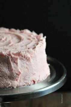 Strawberry Buttercream Frosting Recipe