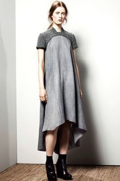 drape, grey dresses