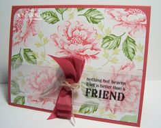 stippled blossoms - stampin up
