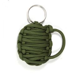 BOOM!  It's the paracord grenade with 10 feet of 550 paracord.