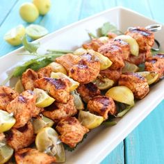 Key Lime Grilled Chicken Taco Skewers.