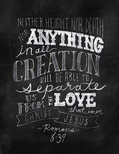 from the love that is in Christ Jesus our Lord