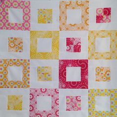 itty bitty quilt by Happy Zombie, via Flickr