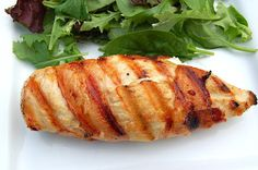Grilled Bacon Wrapped Jalepeno Popper Stuffed Chicken...Delicious!