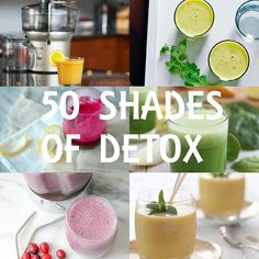 50 Detox Smoothie & Juice Recipes | www.theroastedroot.net
