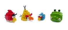 Angry bird made out of LEGOs! Instructions to build
