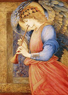 File:Edward Burne-Jones - An Angel Playing a Flageolet.jpg