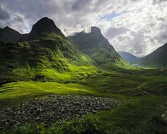 The 3 Sisters, Scotland #Mountains #Outdoors ian cameron, scotland, scottish highlands, inspiring photos, landscape photography, travel, storm, place, walk