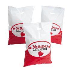 Nurse Treat Bags - OrientalTrading.com