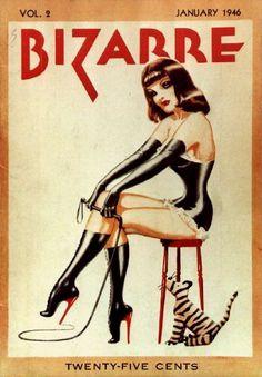 Bizzarre Magazine Cover - January 1946