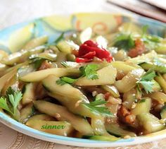 Stir Fried Cucumbers #Chinese #Cucumbers