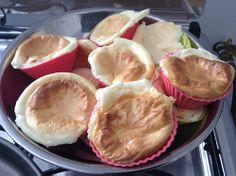 Receita: pão de queijo light para dietas sem carboidratos