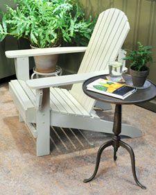 directions on painting adirondak chairs