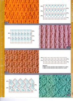 SOLO PUNTOS: crochet puntos tupidos
