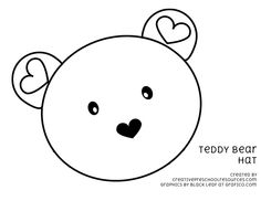 teddy bear printouts -  includes items such as a hat, sorting by size, etc.