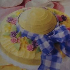 Easter Bonnet Cake