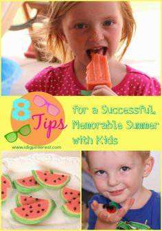 8 Tips for a Memorable, Productive Summer with Young Children