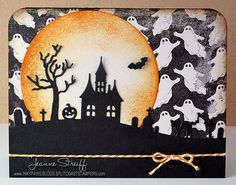 obsess die, paper craft, papercraft, halloween cards, fallhalloween card, impress obsess