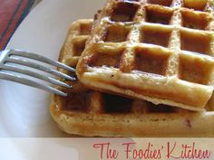 Bacon-Brown Sugar Waffles by The Foodies' Kitchen, via Flickr