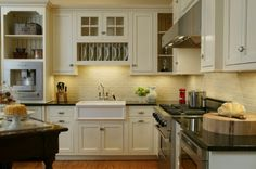Kitchen no window over sink on pinterest eclectic for Kitchen ideas no window