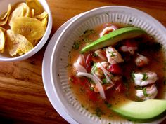 Ceviche de Camarón - the best is in Costa Rica!